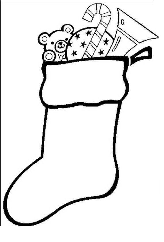 Il diario di un ragazzo comune o quasi disegno calza - Calza pagine da colorare ...