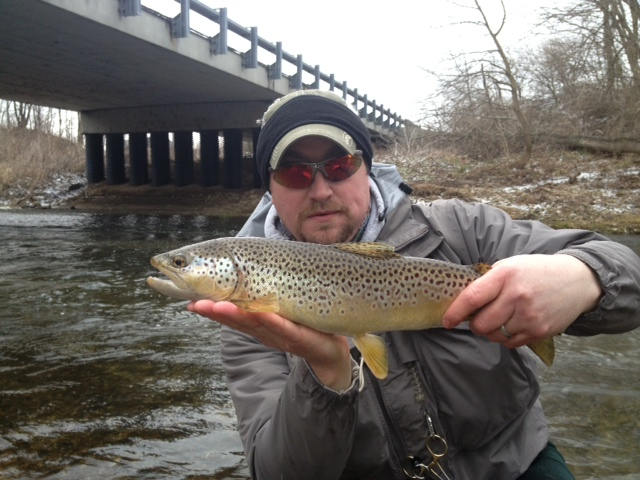 Cooper 39 s landing ohio recent mad river short day big for Mad river fishing
