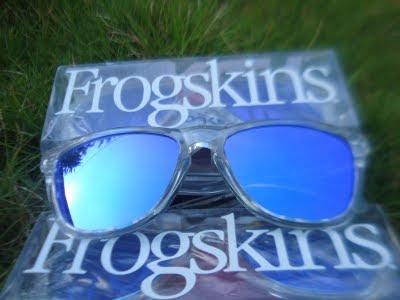 clear oakley frogskins 2ay1  Oakley Frogskin