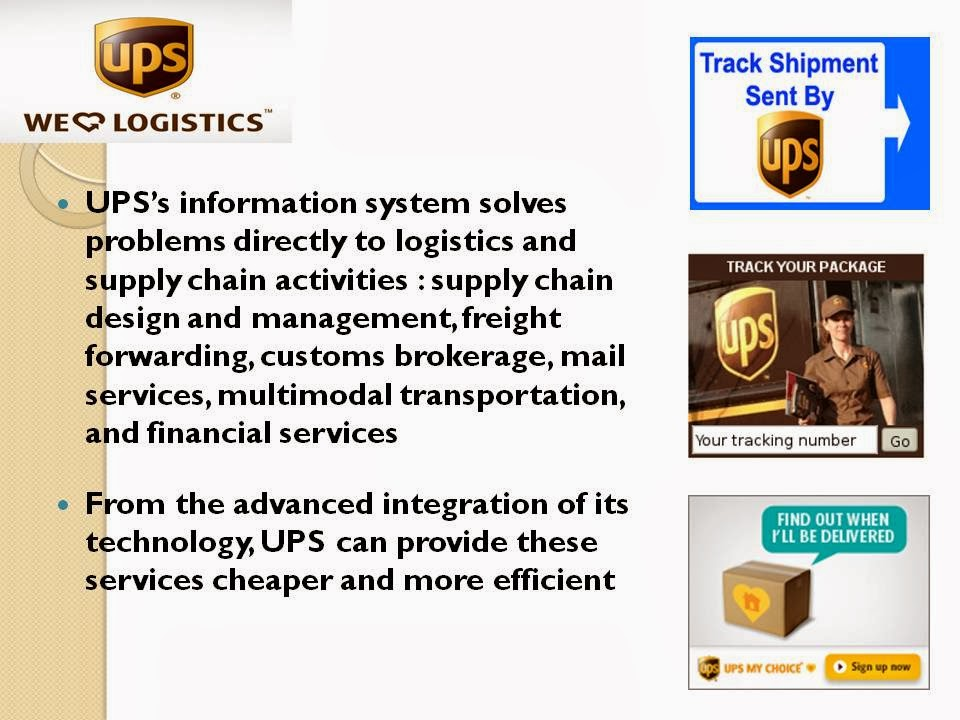 case study on ups competes globally with information technology Ups competes globally with information technology 1) this technology related to ups's business strategy chapter 4 case study : ups competes globally.