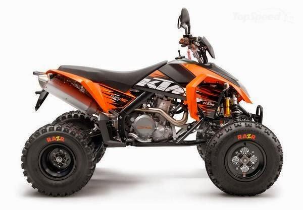 KTM 450 XC and 525 XC Used ATVs