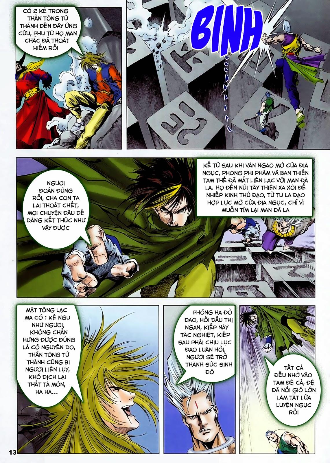 Lục Đạo Thiên Thư chap 47 - Trang 15