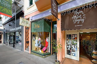 San Francisco, Fillmore Street, Union Street, style and design