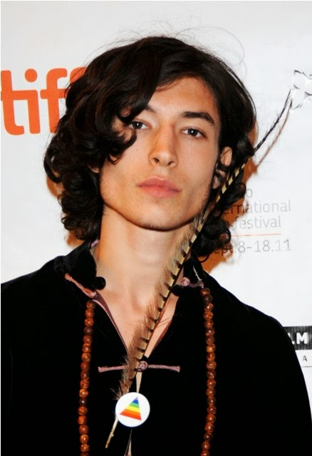 Below are the Ezra miller HairStyles   hopefully its can become your    Ezra Miller