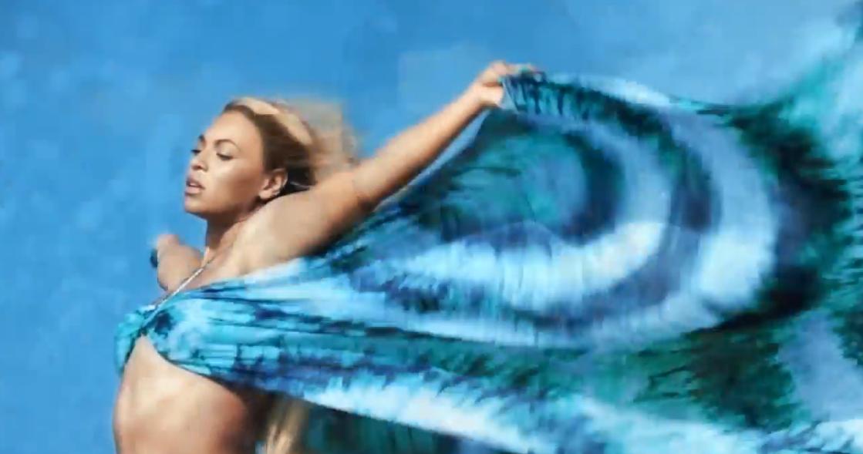 Beyonce Wears Water Aid Bikini