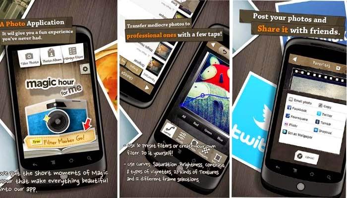 Magic Hour - Camera Apk - Android Efektli Resim Çekme Uygulaması