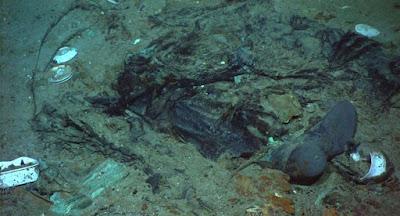 titanic new photo human remains