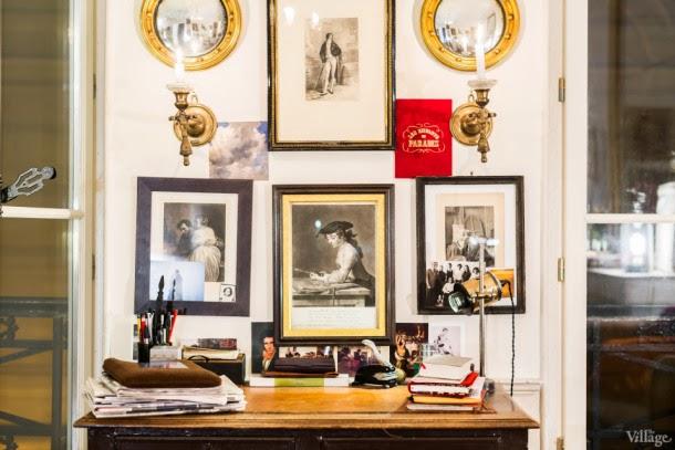 Cuadros espejos y apliques antiguos estudio en parís