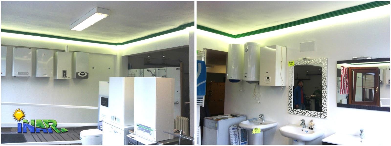 Inar instalaciones el ctricas y autom ticas cornisa con iluminaci n led - Cornisa para led ...