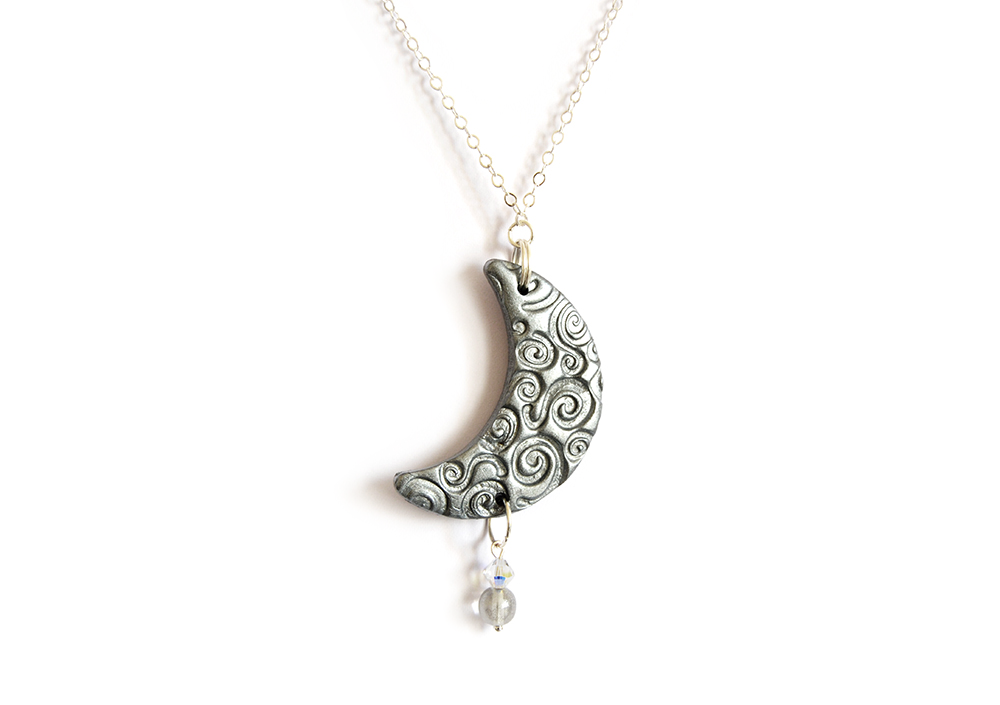 http://www.etsy.com/listing/167042315/moon-necklace-in-silver-polymer-clay?ref=shop_home_active_27
