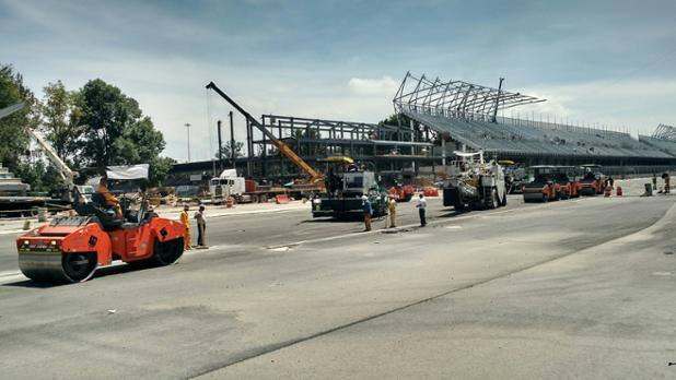 Puebla deportes a dos meses del gran premio de m xico for Puerta 2 autodromo hermanos rodriguez