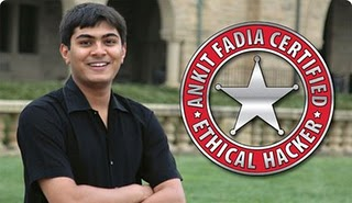 Emi Crops Ankit Fadia Well Known Ethical Hacker And Computer