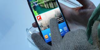 Cara mengaktifkan glove mode Samsung