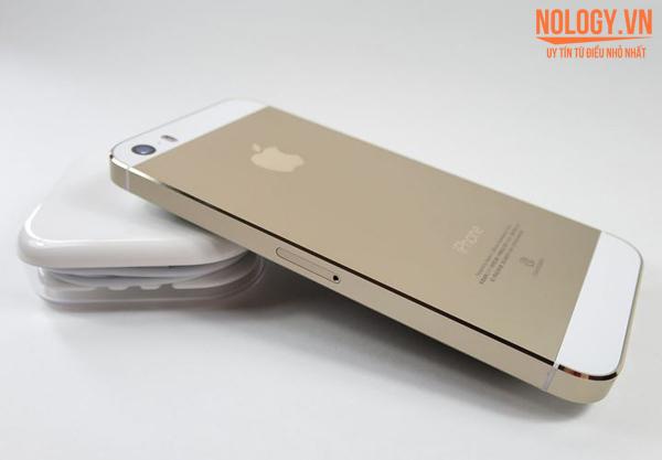 Hình ảnh chiếc Iphone 5s chưa active mới 100%