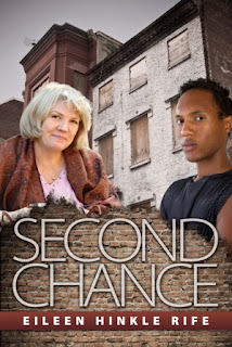 an elderly caucasian woman and a young African american man are shown on the cover.