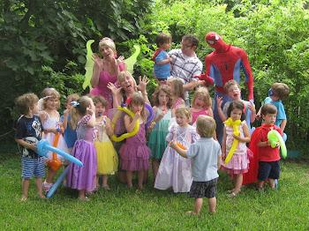 The Fairy Lala & Captain ABCD Batman Party