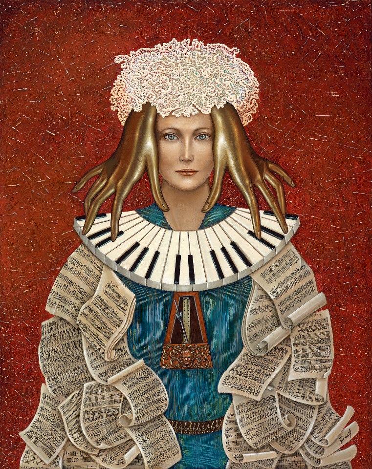 David Silva - Dasil | Mexican Imaginative Surrealist painter