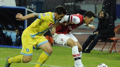 Xem lại đầy đủ trận Napoli vs Arsenal