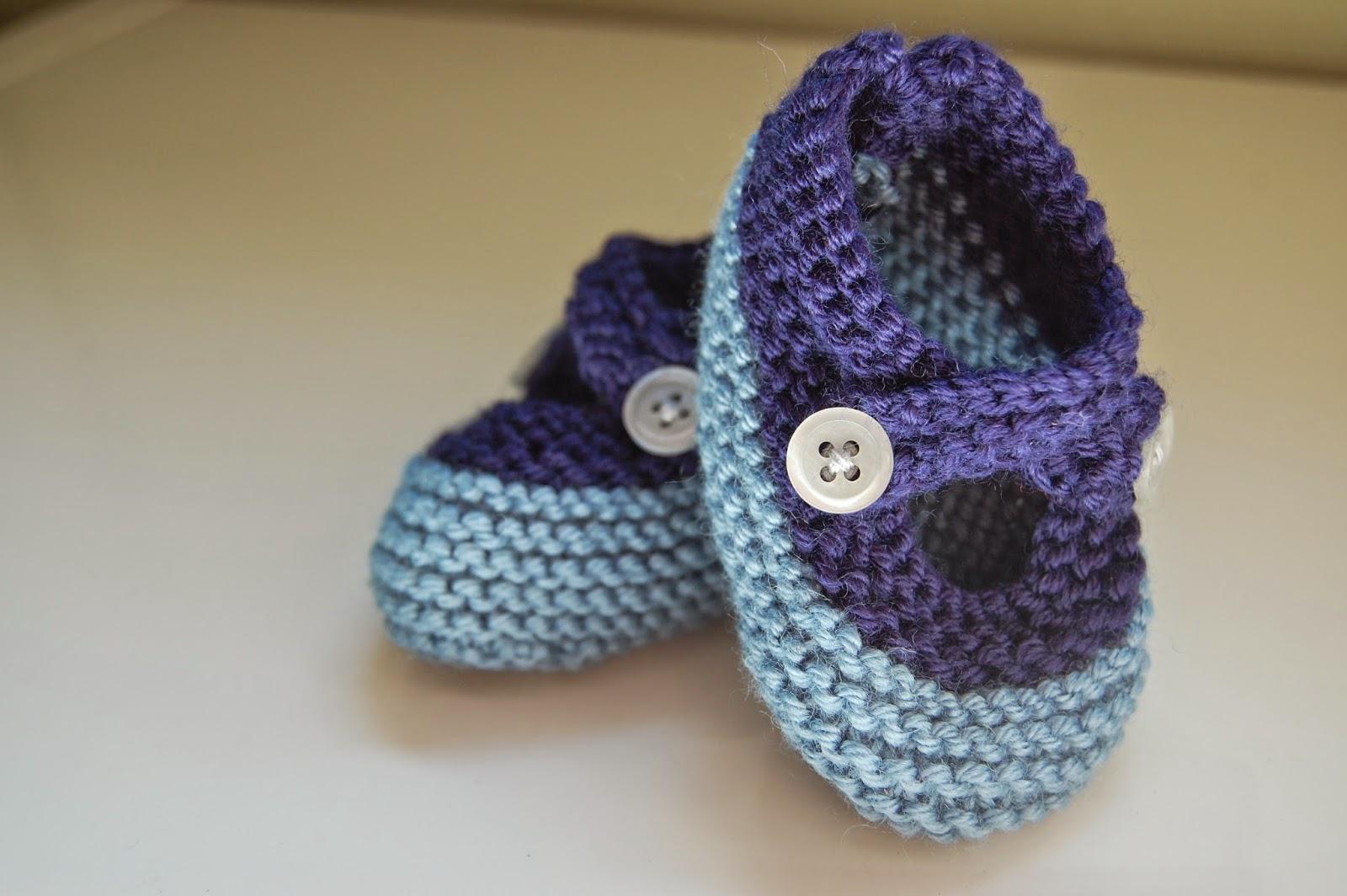 tricot-chausson-bride-bébé