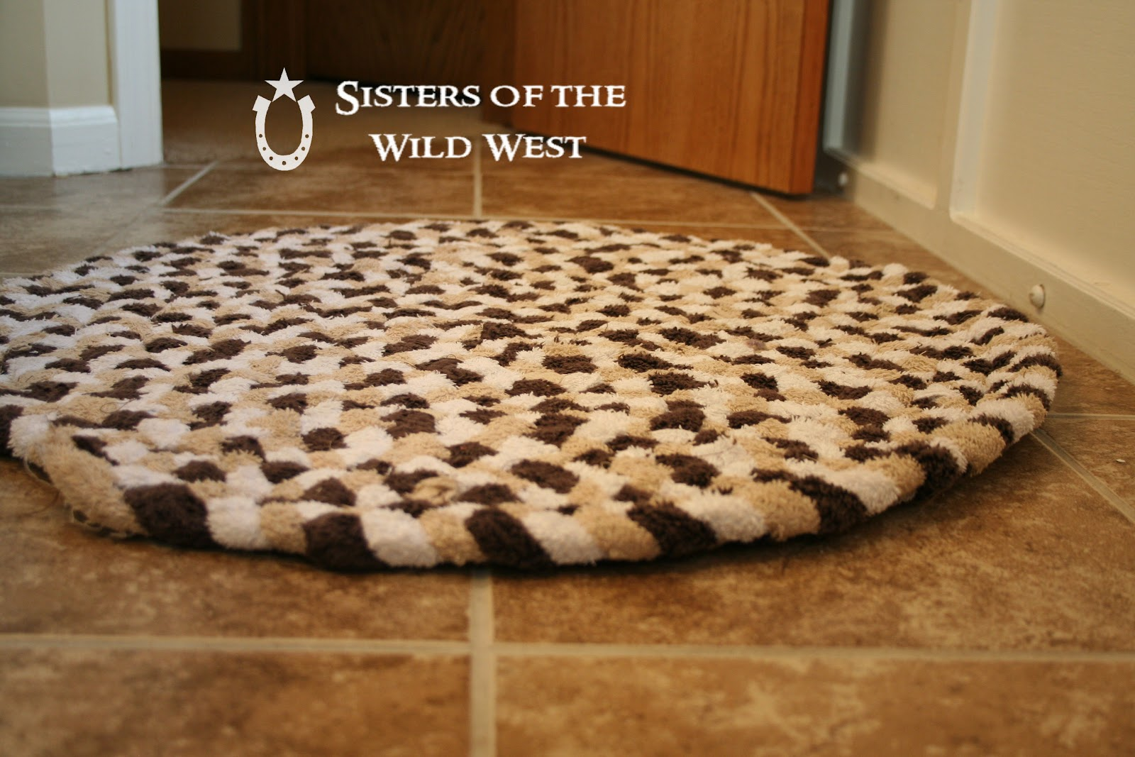 Braided Rug Tutorial Recycling Old Towels