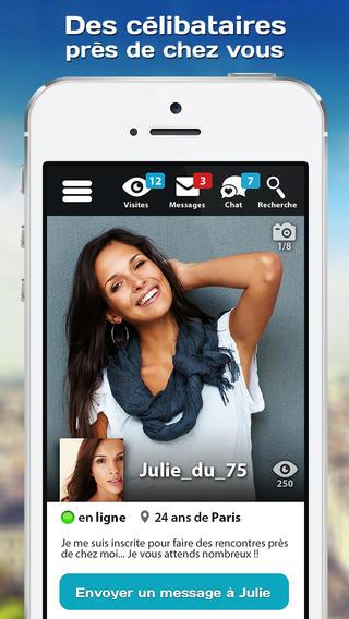 application iphone pour faire des rencontres