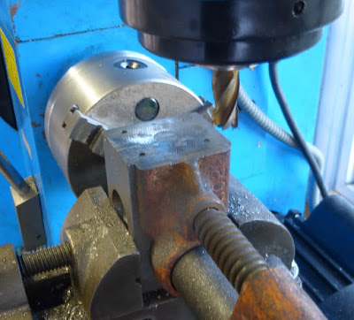 finish milling vise jaw