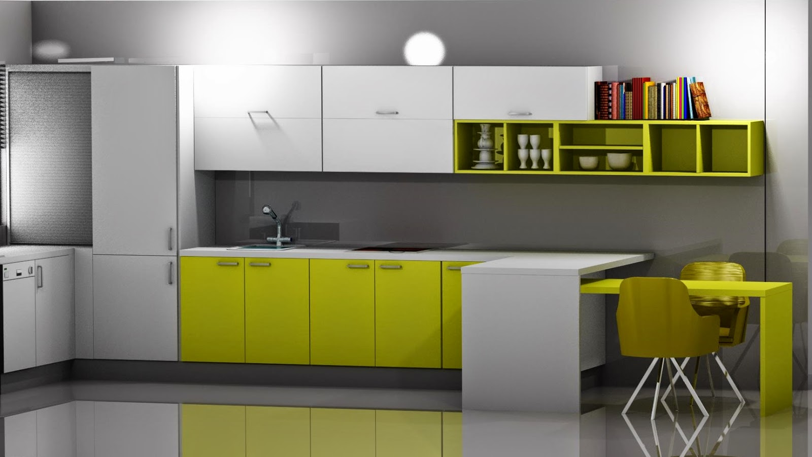 Dise o muebles de cocina dise o de cocina laminado en - Laminado para cocina ...