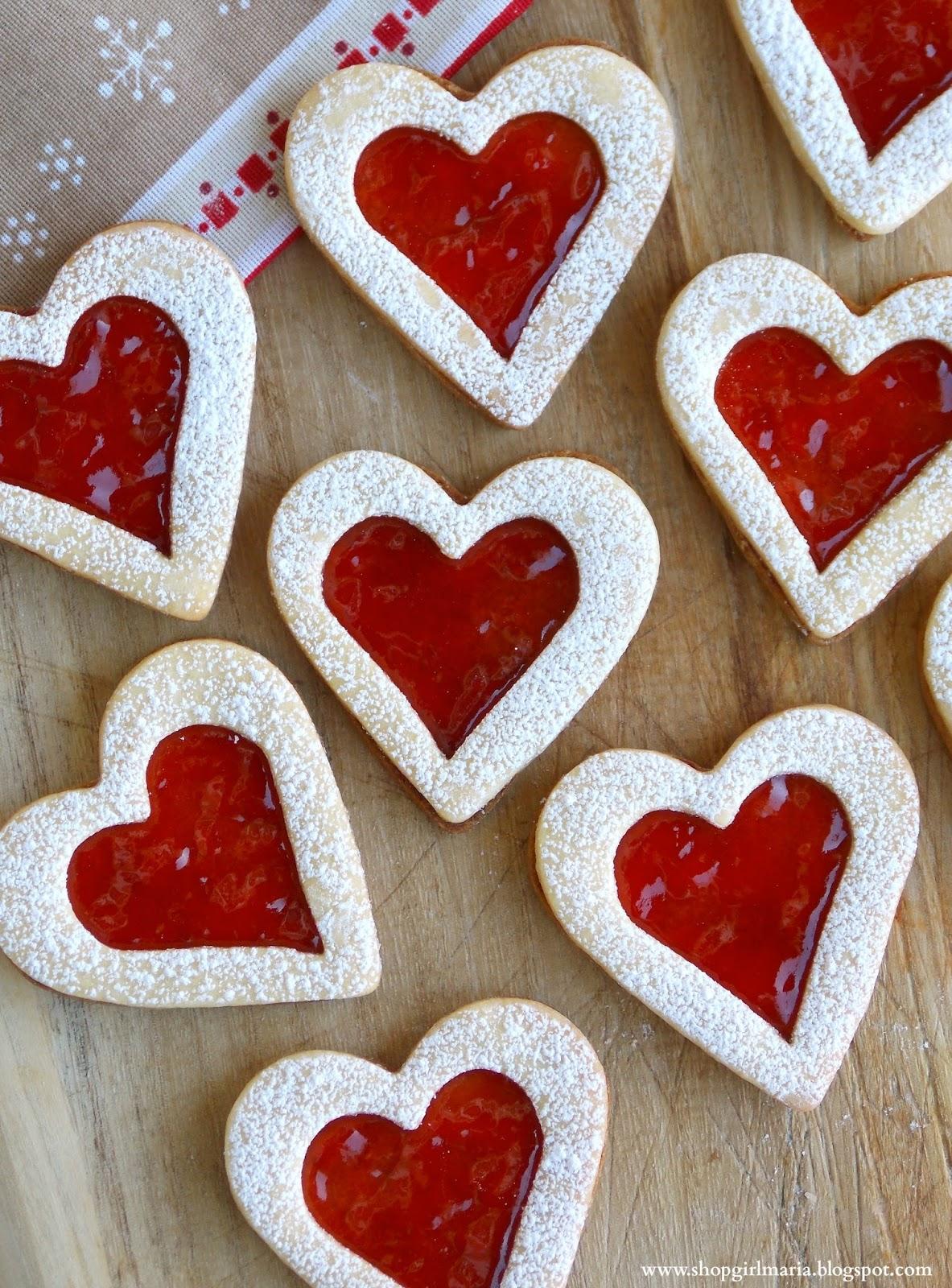 Linzer Heart Cookies | A Homemade Living