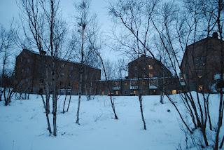 宿泊施設のアビスコツーリストステーション