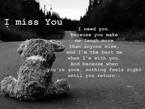 I Miss You Quotes For Boyfriend
