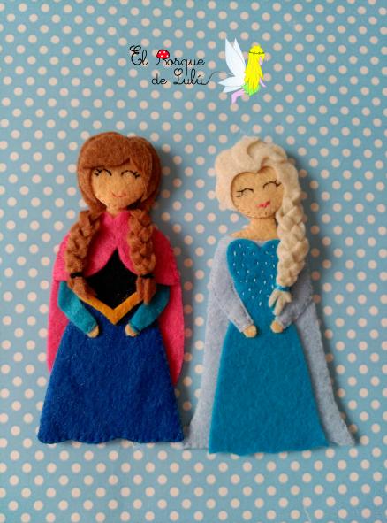 diademas-en-fieltro-Anna-Elsa-Frozen-muñequita-fieltro-tocado-broche