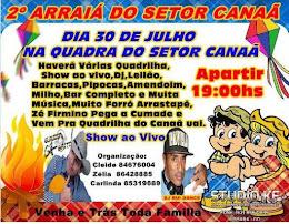 2º ARRAIÁ DO SETOR CANAÃ