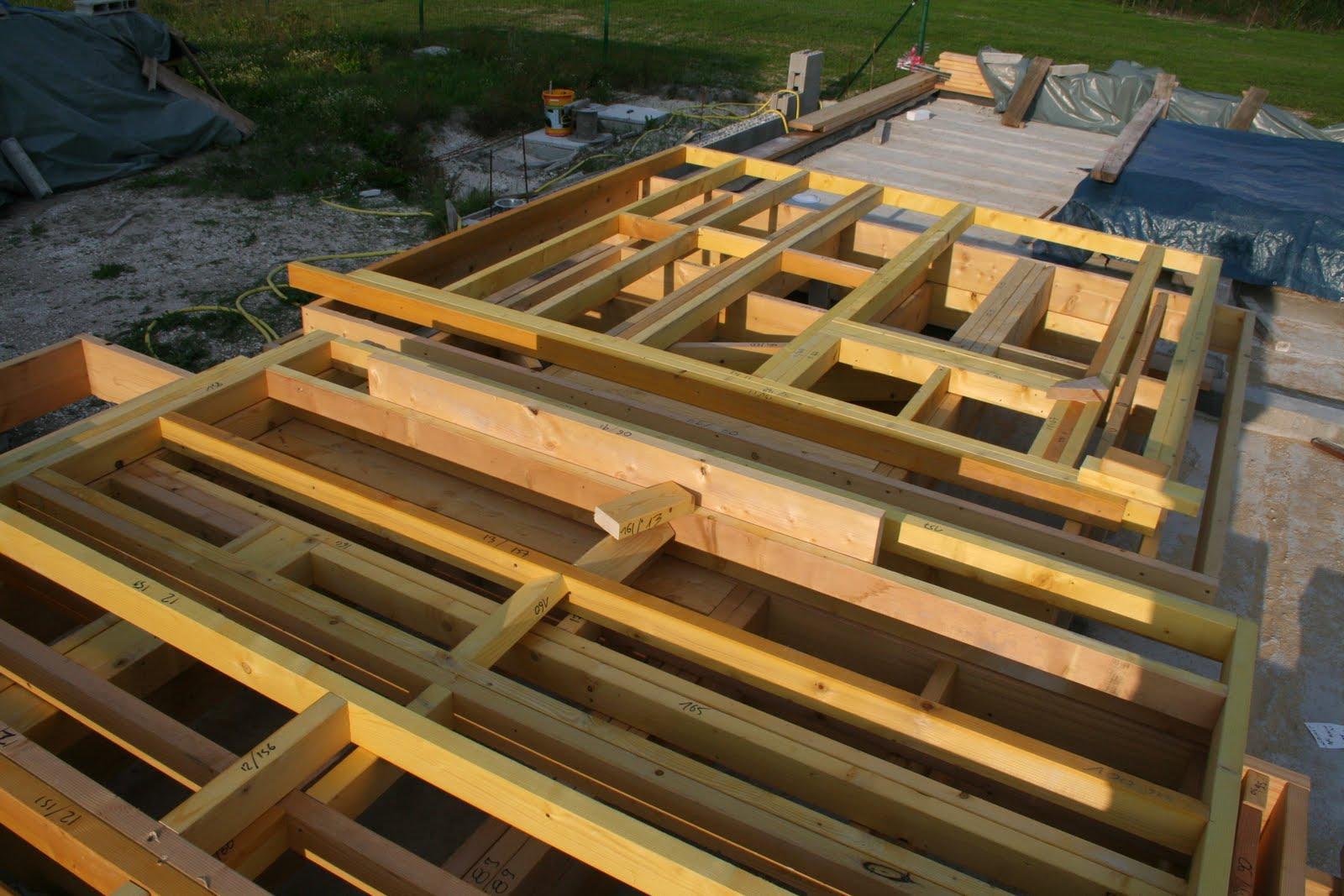 Chronique d 39 une construction de maison en paille ossature bois dans la marne la paille pour for Construction de maison en paille