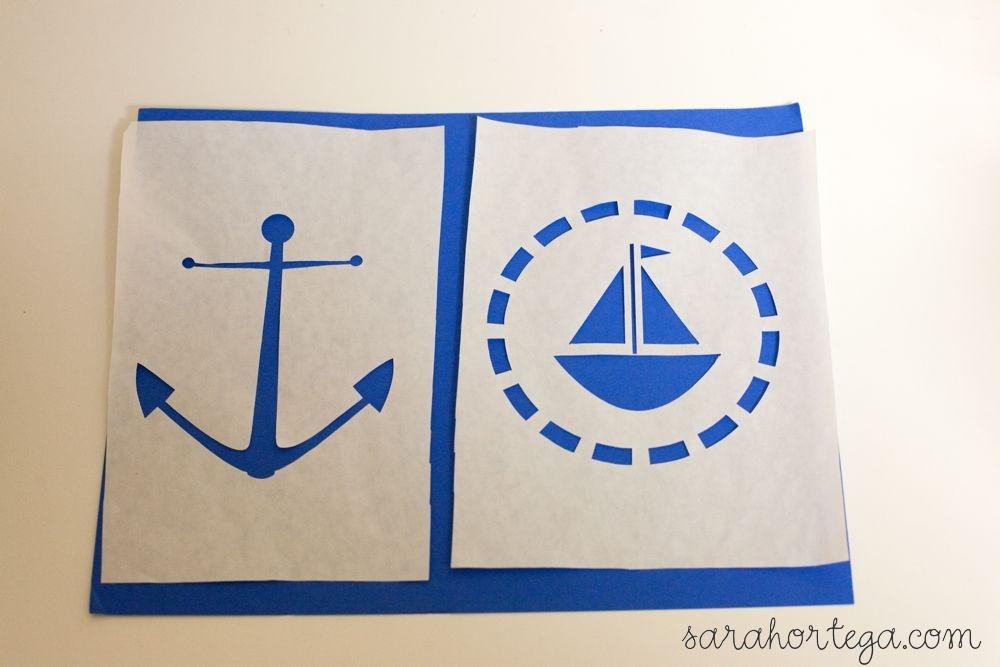 Nautical stencil patterns