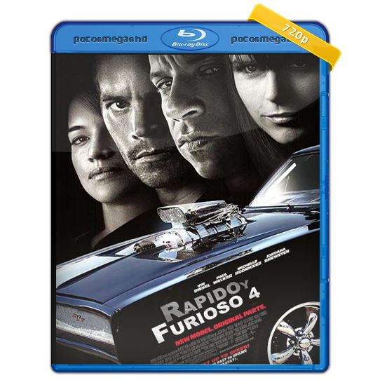 RAPIDO Y FURIOSO 4 | 2009 | BRRIP 720P | AUDIO LATINO 5.1 | 890 MB