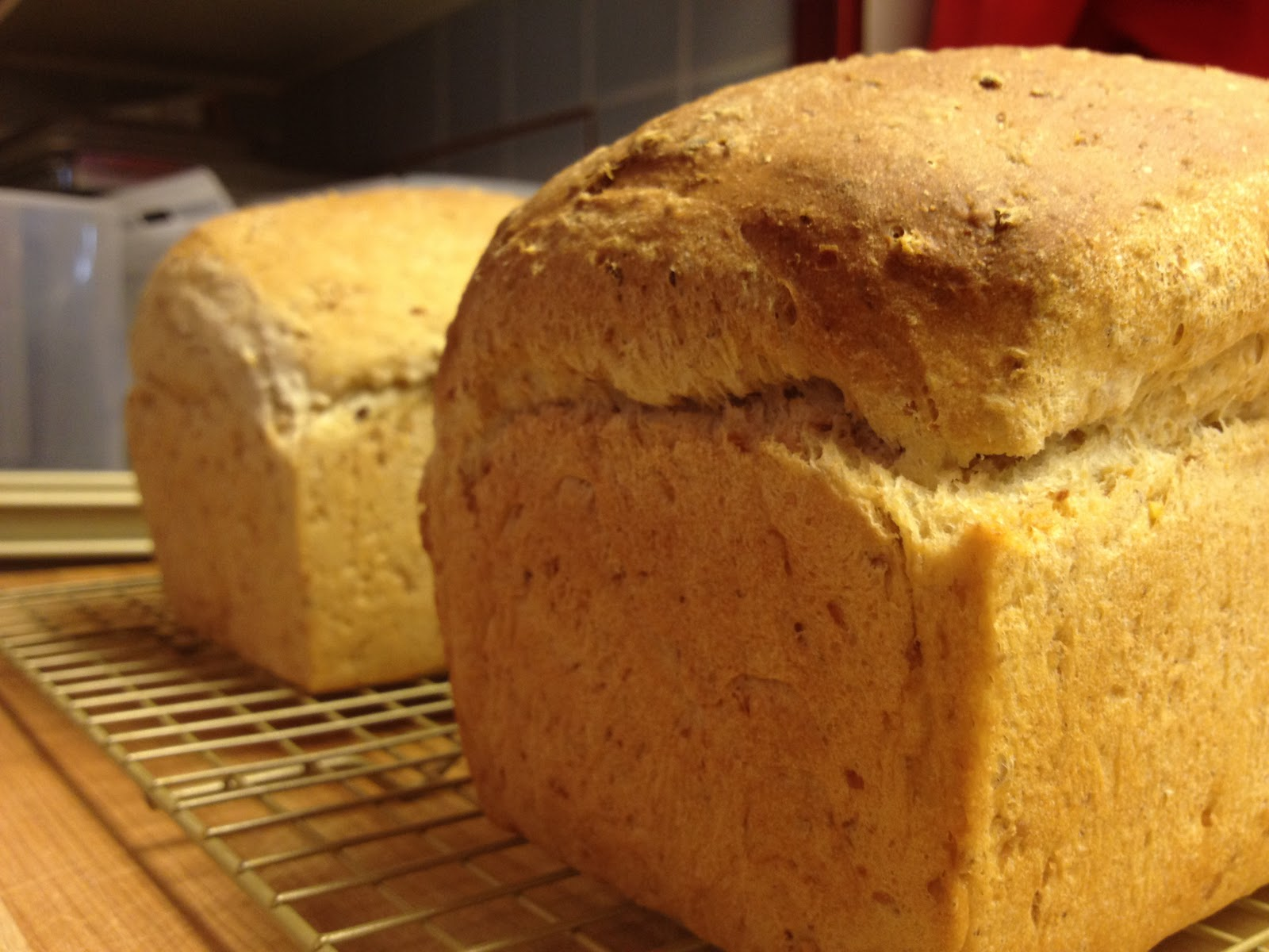 Food Resolutions: A little back story and multigrain bread