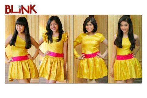 inilah Foto Blink Girlband Indonesia dan Biodatanya