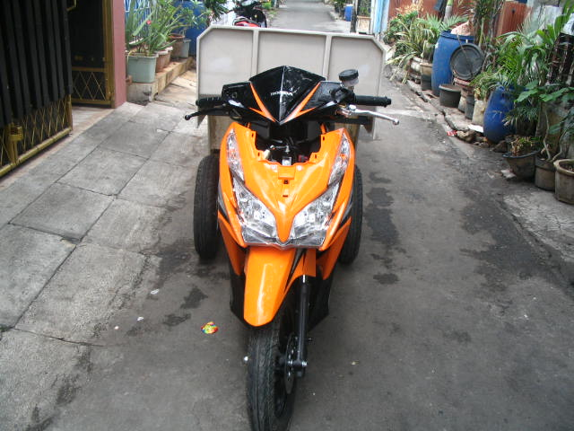 ON PROGRESS Vario Techno 125 Roda 3 + Tandu Pesanan PT. Bayan  title=