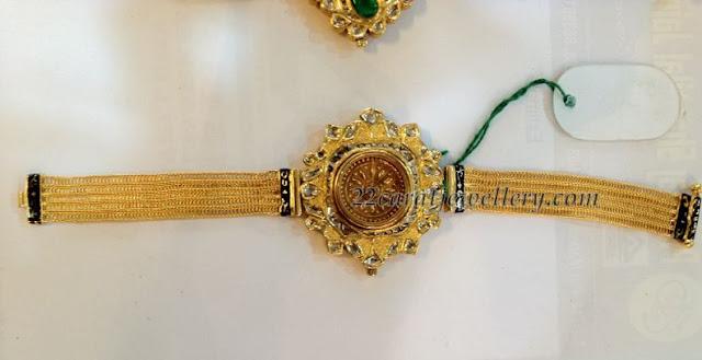 gold bracelet jewellery designs