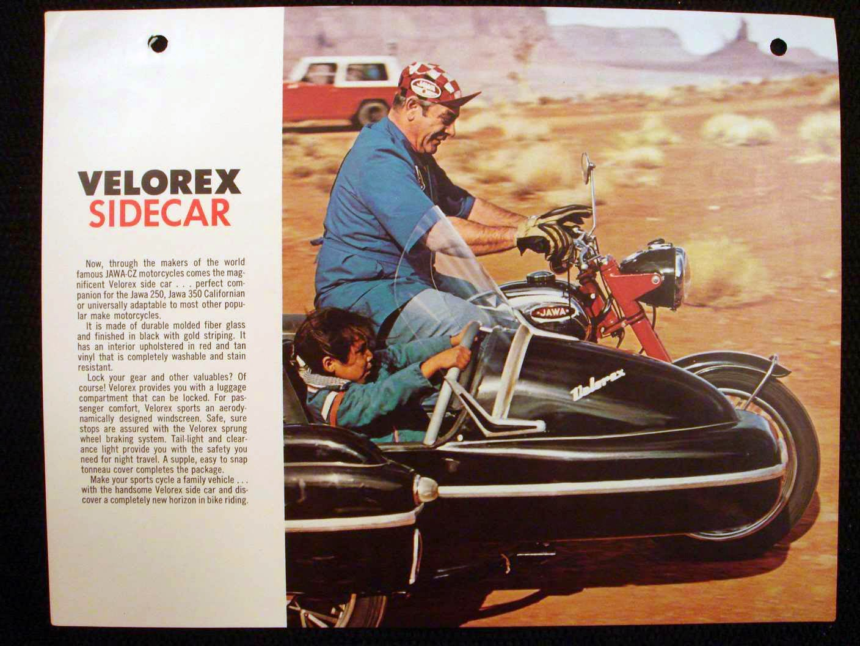 Velorex 560 Sidecar ulotka a