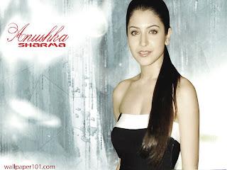 Anushka sharma bra press