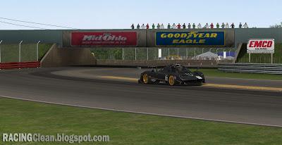Mid-Ohio Sports Car Course - Lexington Ohio - Coming to RaceRoom Racing Experience (Pagani Zonda in turn 1)