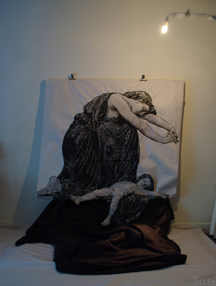 Žilda, Zilda, artist, painting, peintre, pittura, peinture, fragiles fabulae