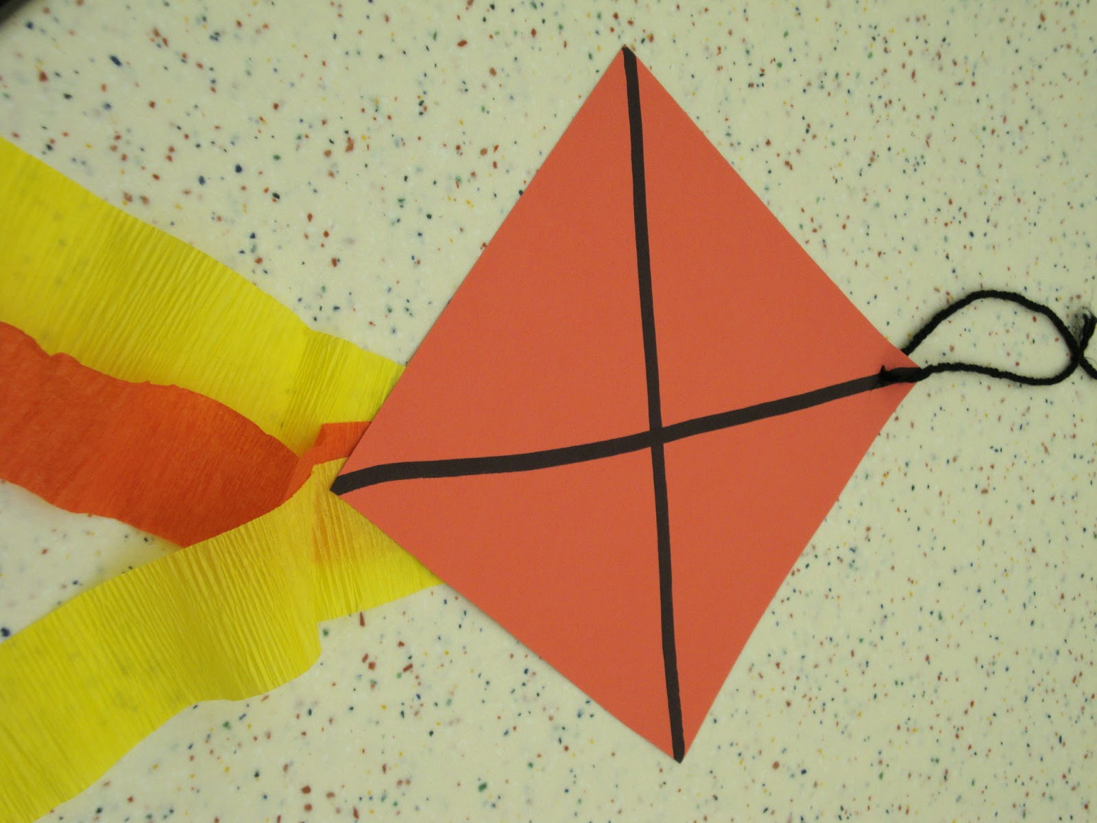 Preschool Kite Craft Ideas