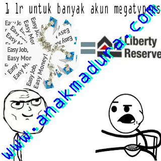 multiple account megatypers dengan 1 liberty reserve