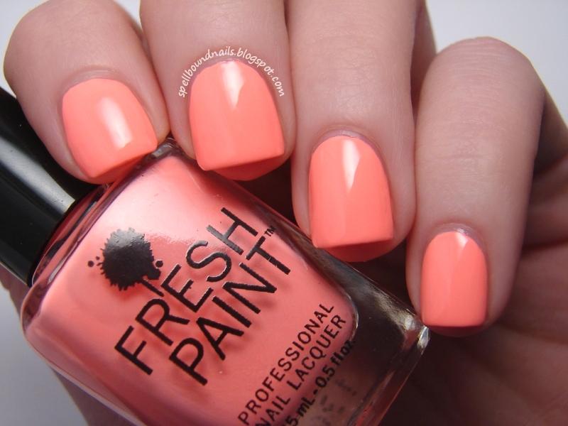 fresh paint nail polish swatches