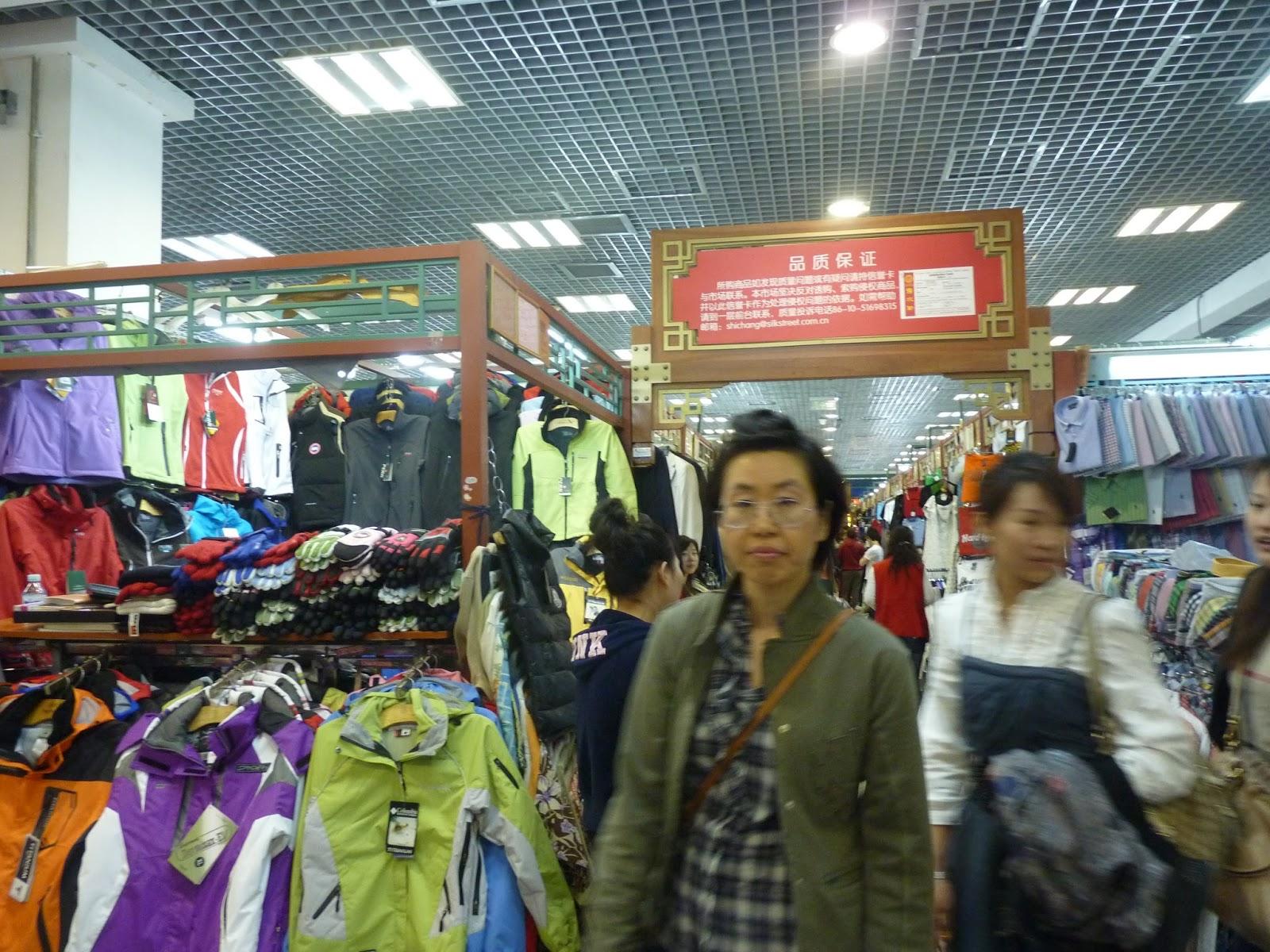 Mercado de la Seda Pekin