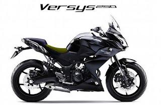 Ingat Broe...Kawasaki Ancang-ancang Rilis Versys 250 Adventure, Fusion Z250