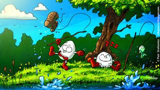 Seria grafik na podstawie gier z Commodore 64