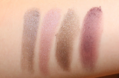 Mary Kay City Sophisticate Eye Color Palette Swatches